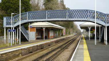 Horsley station by David Wilson